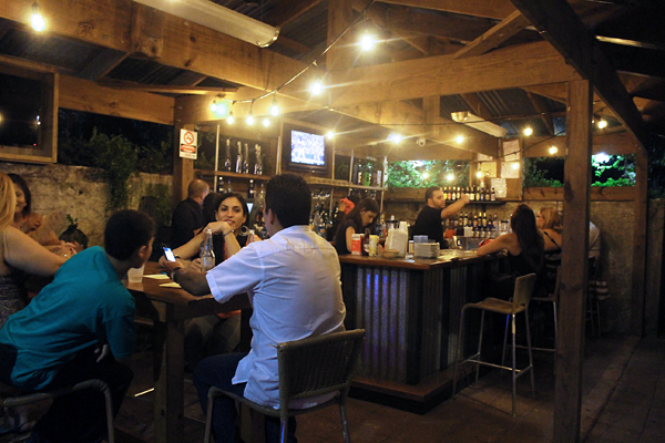 Pre apertura en trapiche bar y tapas buenapetito for Restaurante jardin botanico